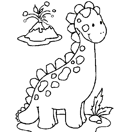 Coloriage Bebe Maternelle.Coloriage Dinosaure Maternelle La Petite Tranche