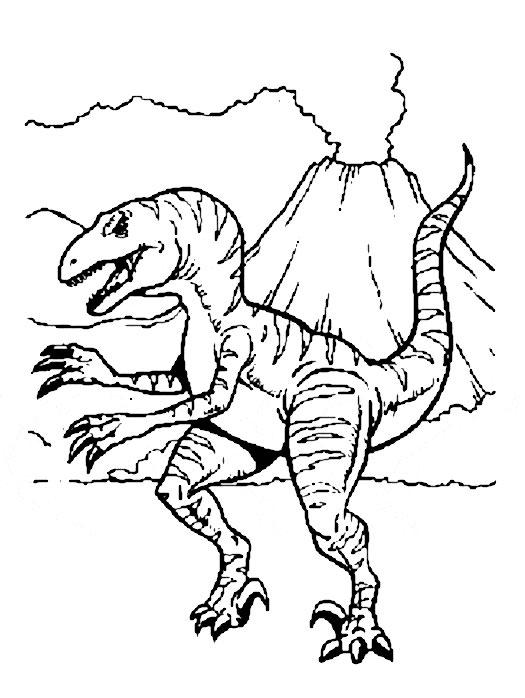 19 dessins de coloriage Dinosaure King A Imprimer Gratuit à imprimer