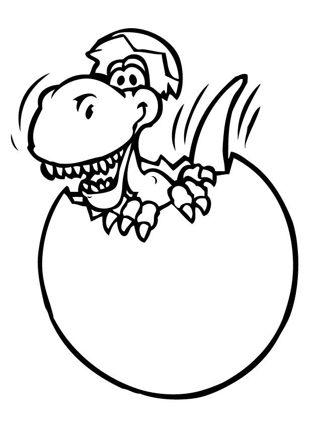 Coloriage dessiner dinosaure maternelle - Dessiner dinosaure ...
