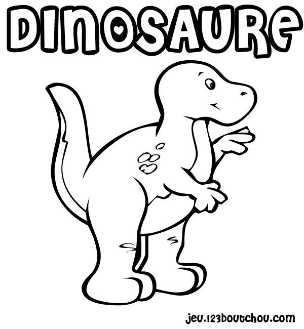 Coloriage ã Dessiner Dinosaure T Rex
