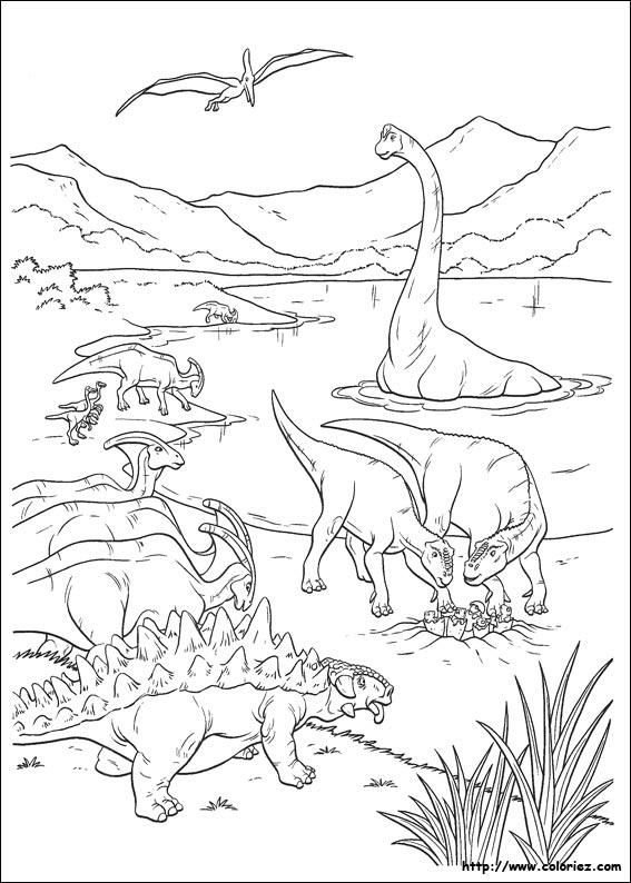 Coloriage dessiner de dinosaure rex - Dessiner dinosaure ...