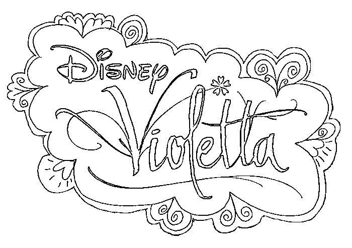 16 dessins de coloriage disney channel violetta imprimer - Violetta en coloriage ...