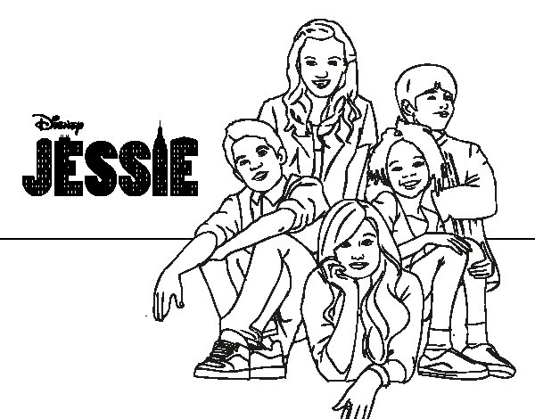 jessie coloring pages minecraft - photo#4