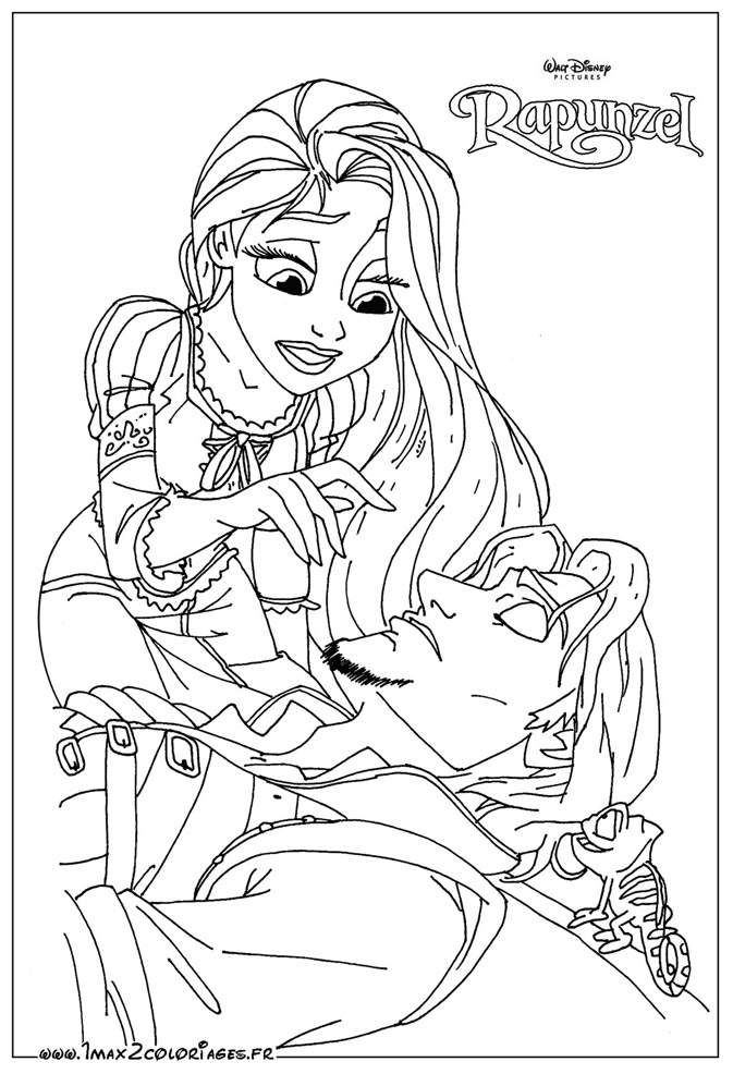 coloriage disney princess