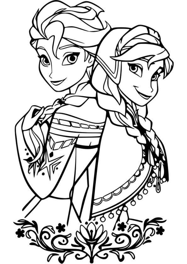 coloriage d princesse disney