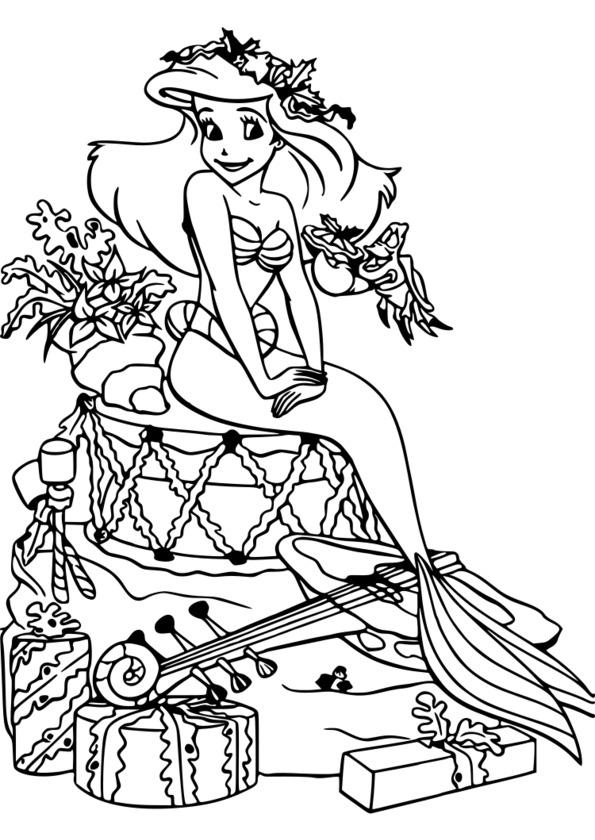 coloriage disney à imprimer reine des neiges