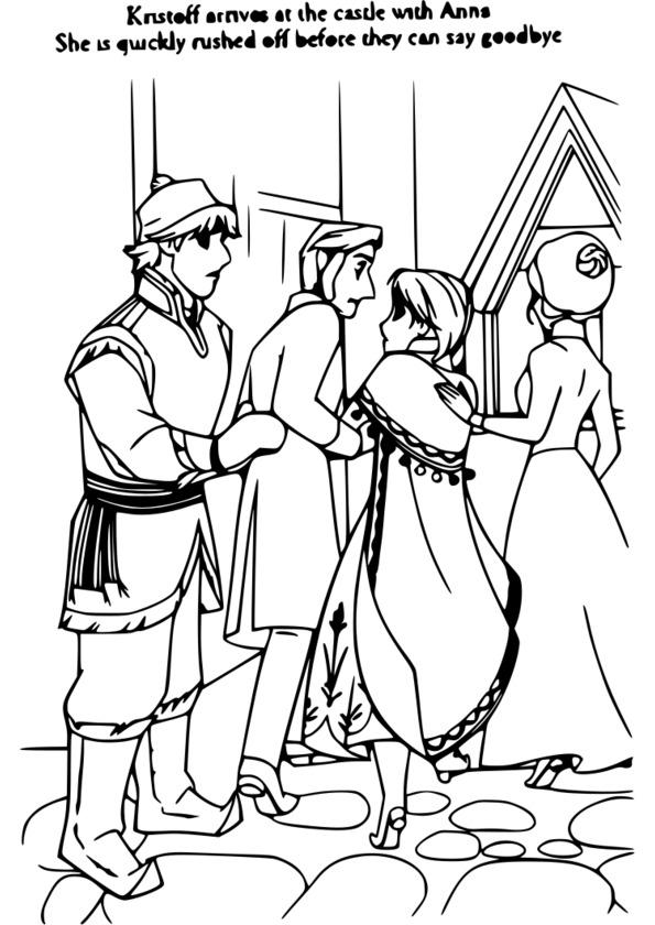 dessin � colorier personnage de disney