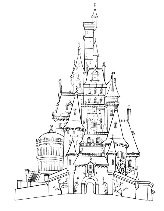 15 dessins de coloriage disneyland imprimer. Black Bedroom Furniture Sets. Home Design Ideas