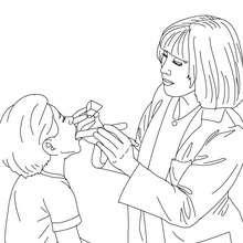 coloriage à dessiner à imprimer docteur la peluche