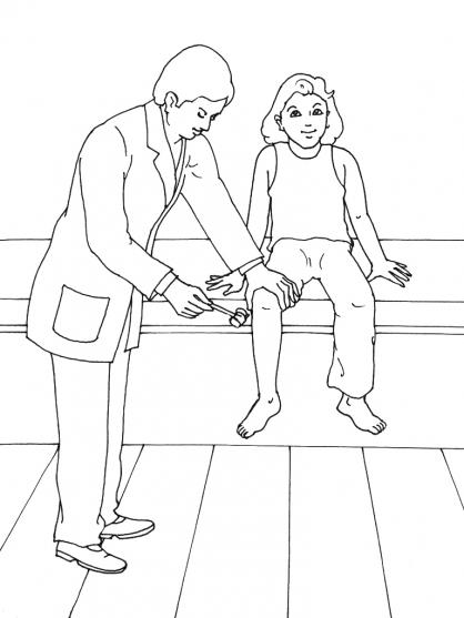 coloriage à dessiner à imprimer docteur