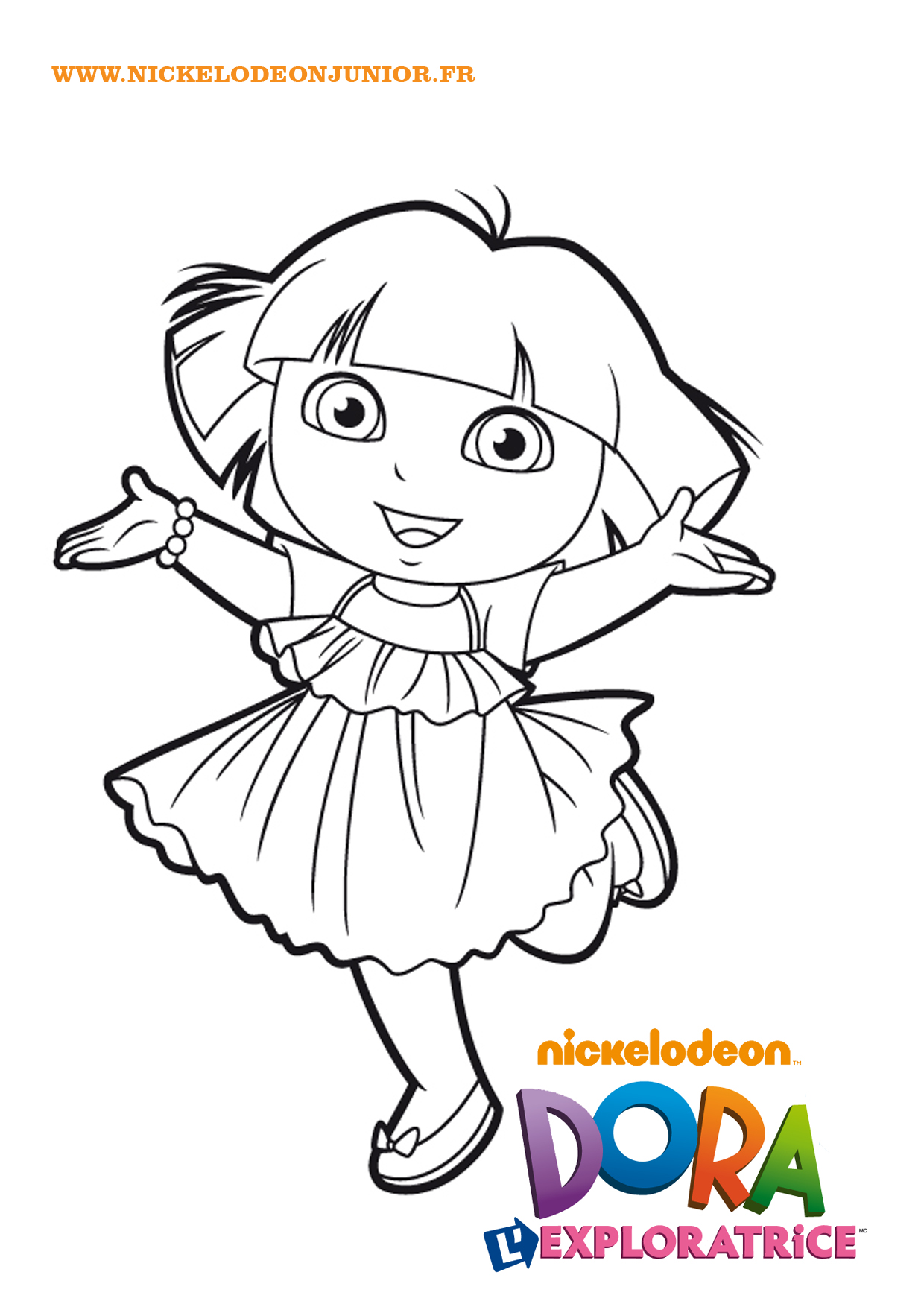 148 Dessins De Coloriage Dora A Imprimer