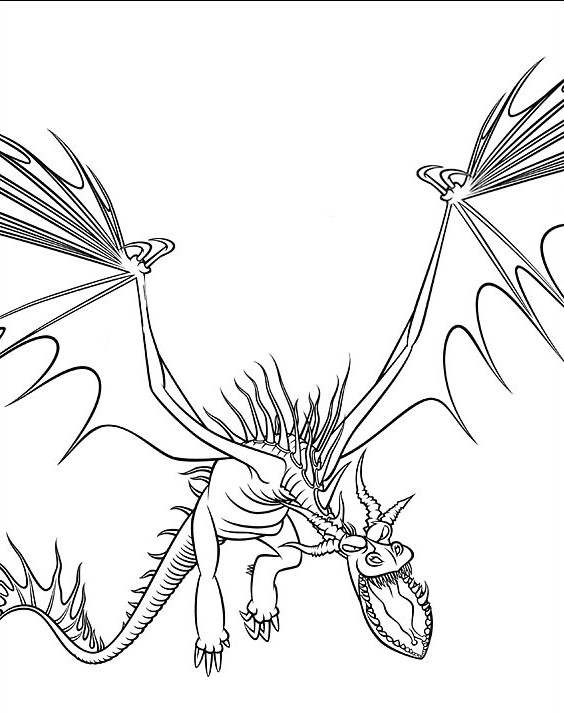19 Dessins De Coloriage Dragon 2 224 Imprimer