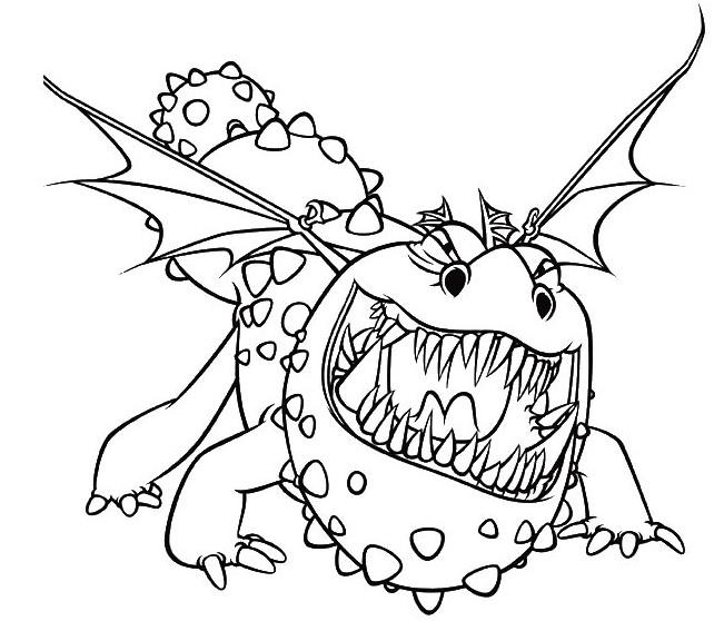 19 dessins de coloriage dragon 2 imprimer - Dragon a imprimer ...
