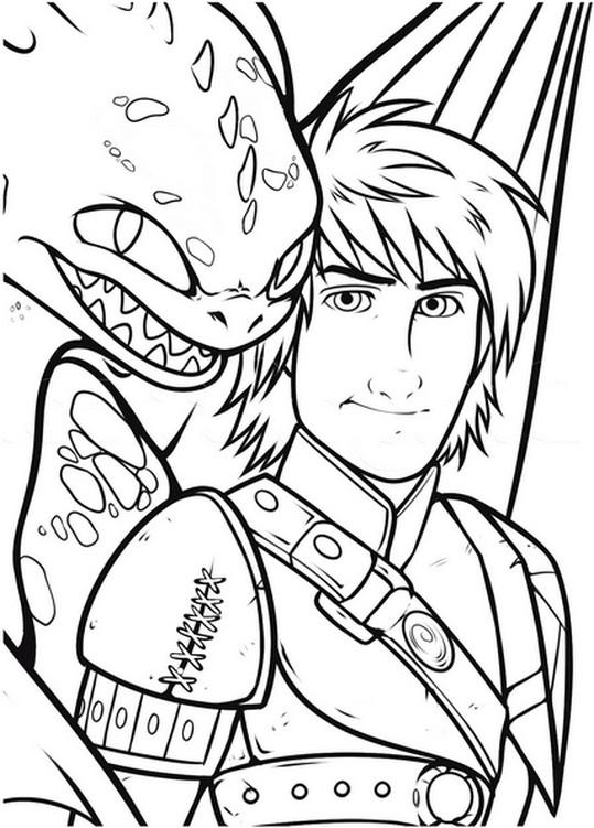 19 dessins de coloriage dragon 2 imprimer - Image de dragon a imprimer ...