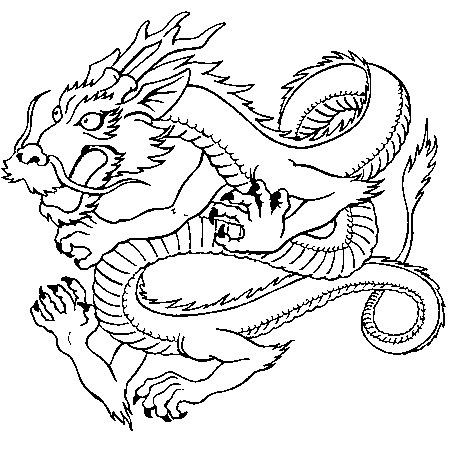 20 dessins de coloriage dragon imprimer gratuit imprimer - Dessins dragon ...
