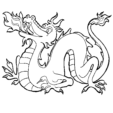 20 dessins de coloriage dragon imprimer gratuit imprimer - Coloriages de dragons ...