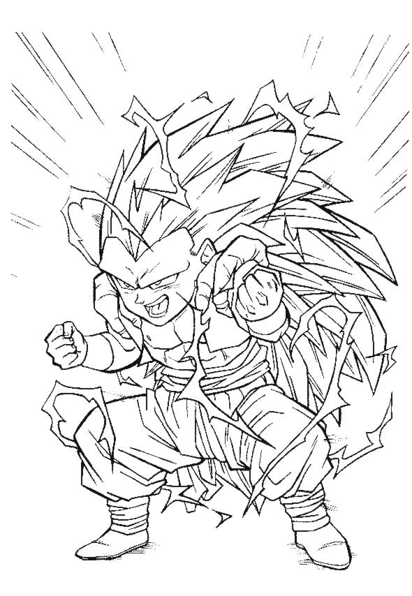 18 dessins de coloriage dragon ball z a imprimer gratuit - Coloriage gratuit dragon ball z ...