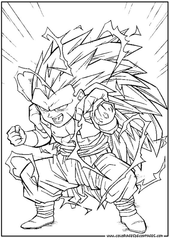 Coloriage dessiner dragon ball z sangoku - Dessin de dragon ball za imprimer ...