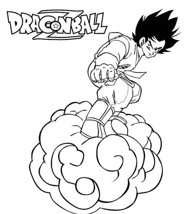Coloriage dragon ball z gratuit - Coloriage gratuit dragon ball z ...