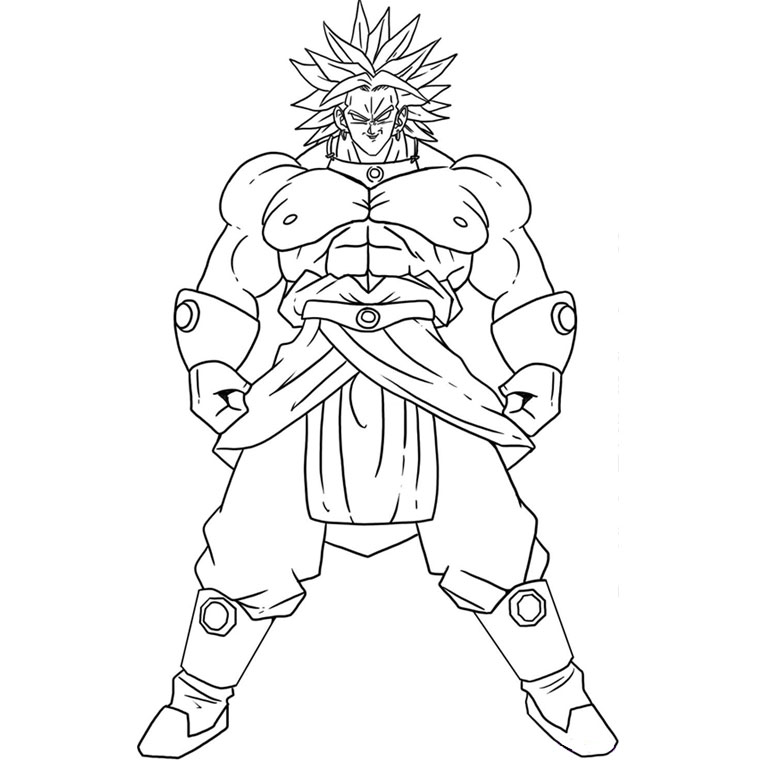 dessin dragon ball z cell