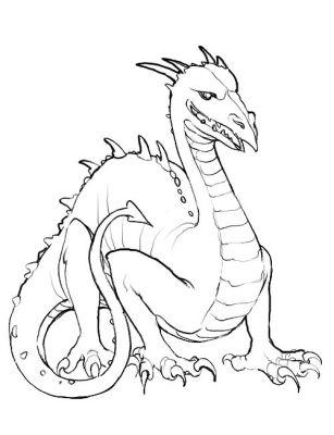 Dessin A Imprimer Dragon Chinois