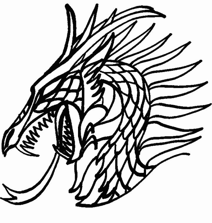dessin colorier dragon sur ordinateur - Dessin Colorier Sur Ordinateur