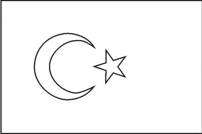 coloriage drapeau maroc imprimer