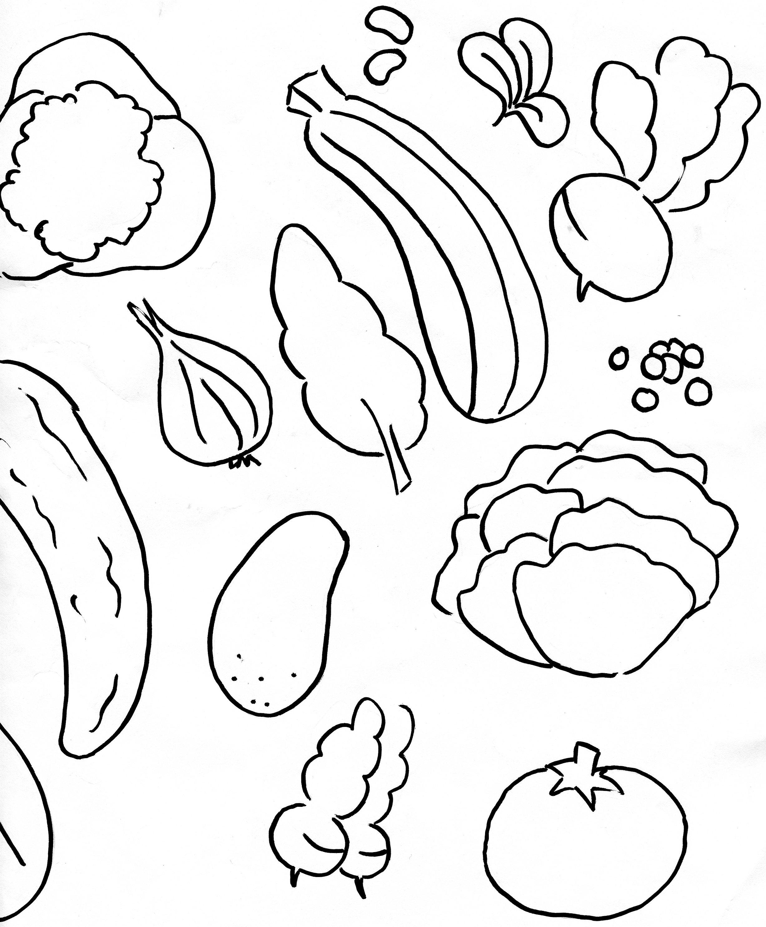 Inspirant Photos De Fruits Et Legumes A Imprimer