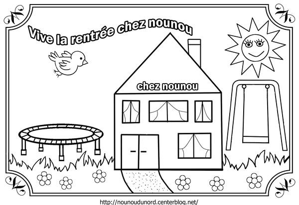 Top 9 dessins de coloriage école Rentrée à imprimer DX12