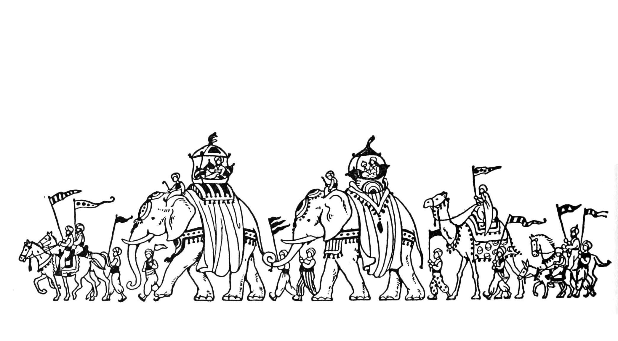 11 dessins de coloriage l phant adulte imprimer - Coloriage magique elephant ...