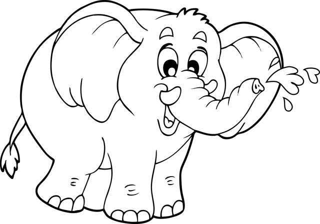 Pin dessin de elephant rigolo on pinterest - Dessin elephant rigolo ...