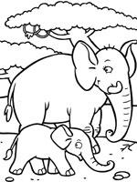 dessin masque éléphant