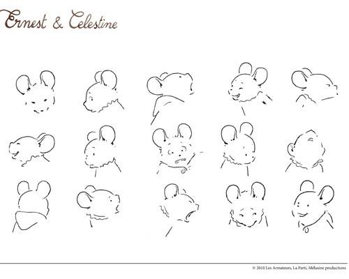 16 dessins de coloriage ernest et c lestine imprimer - Ernest et celestine coloriage ...