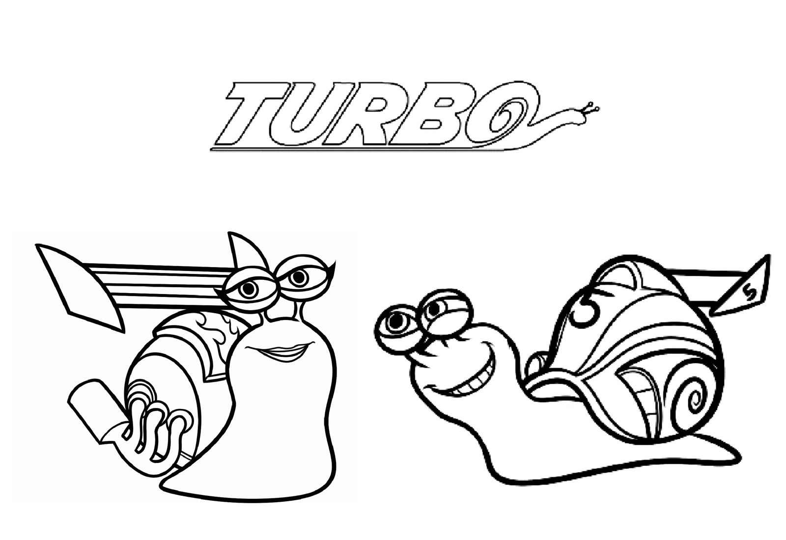 95 dessins de coloriage escargot turbo imprimer - Coloriage escargot turbo ...