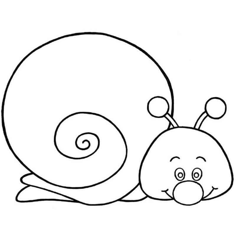 hugo l escargot coloriage paques