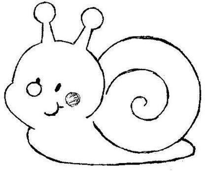 Hugo l 39 escargot dessin japon - Coloriages escargot ...