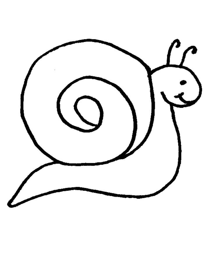 coloriage turbo l'escargot à imprimer