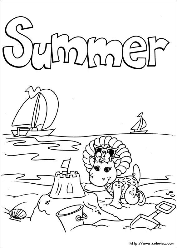 Coloriage vacances t imprimer - Coloriage ete ...