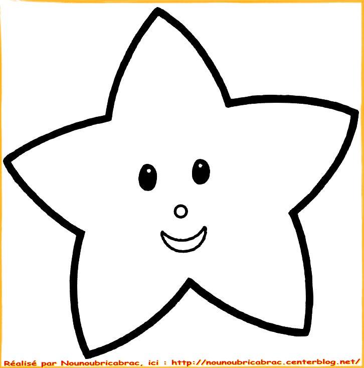 114 Dessins De Coloriage étoile à Imprimer