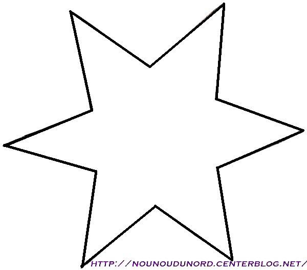 dessin à colorier étoile de mer en ligne
