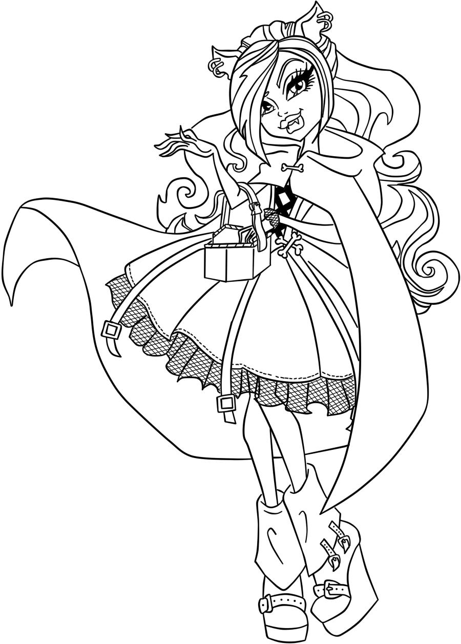 13 dessins de coloriage ever after high raven queen imprimer - Moxie girlz pagine da colorare ...