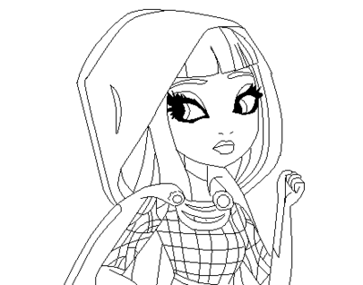 dessin à imprimer ever after high