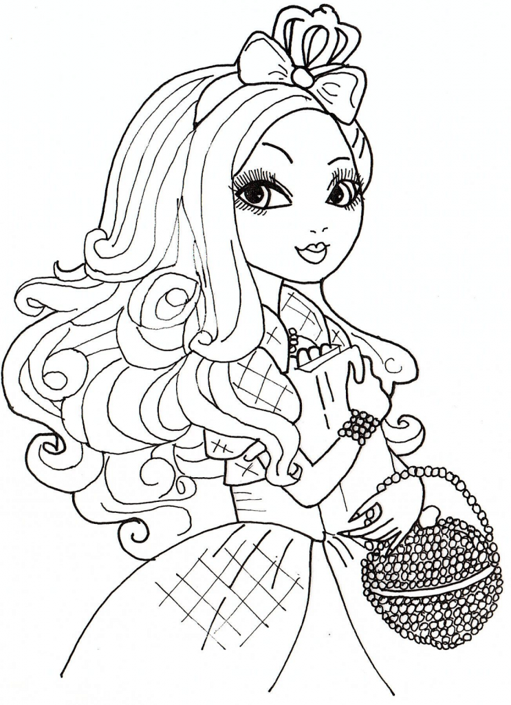coloriage ever after high hugo l'escargot