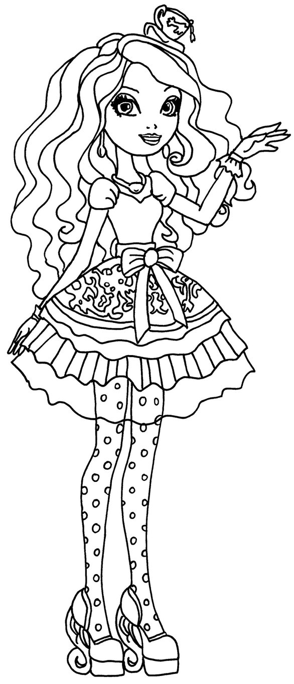 jeux de coloriage ever after high
