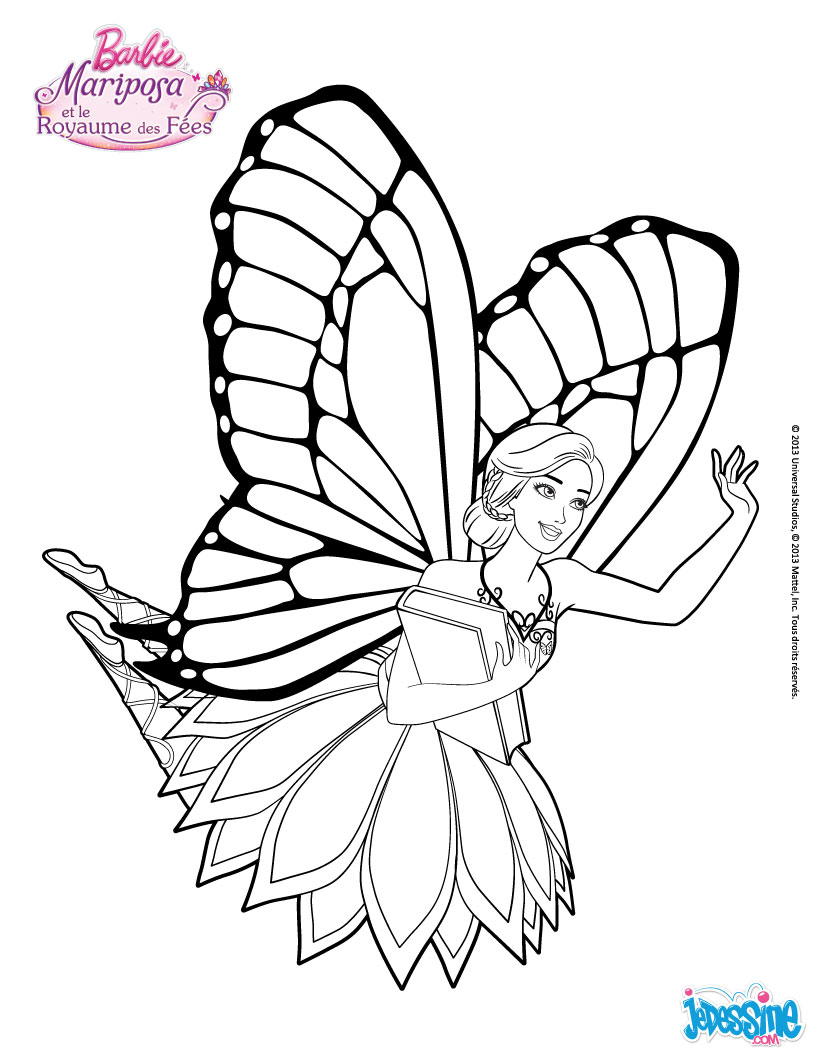 dessin à colorier fée clochette et peter pan