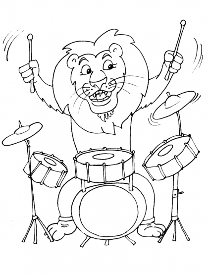 Coloriage dessiner felin a imprimer - Musique coloriage ...