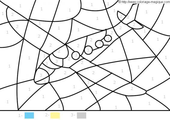 dessin à colorier facile