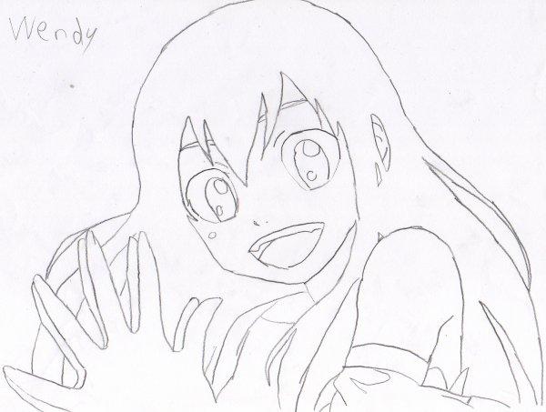 4 Dessins De Coloriage Fairy Tail Wendy 224 Imprimer Viewinviteco