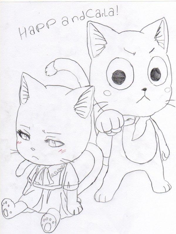 4 dessins de coloriage fairy tail wendy imprimer - Dessin de fairy tail ...