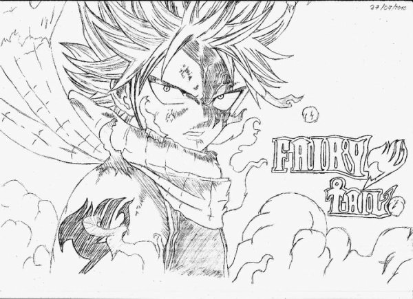 dessin de manga fairy tail